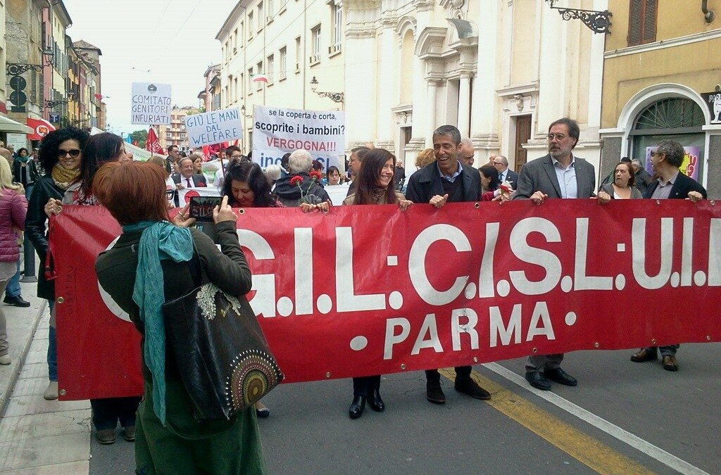 Primo Maggio Festa del Lavoro Parma 2015