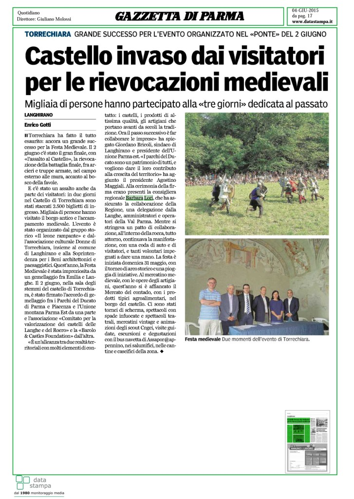 Castello Torrechiara 4 giu 2015