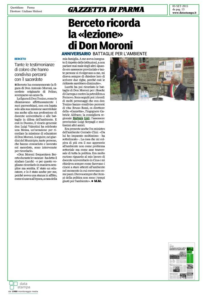 Don Moroni Berceto