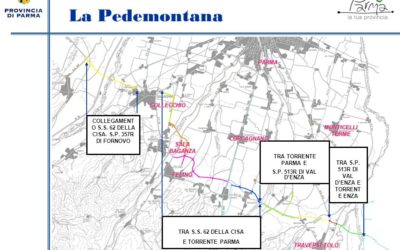 Pedemontana: finanziato il progetto per il nuovo ponte e la tangenziale di Sala Baganza.