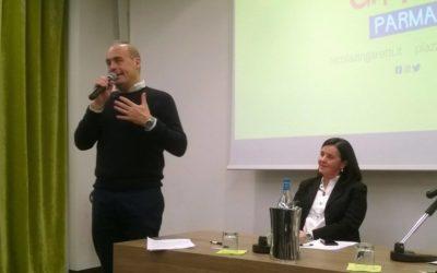 Nicola Zingaretti a Parma