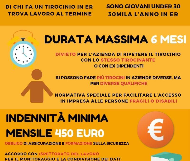 Tirocini, l'Emilia-Romagna ha una nuova legge: si rafforzano le tutele, aumentano i controlli.