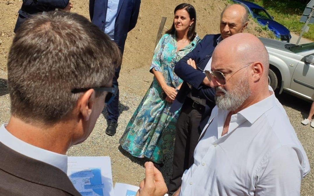 In appennino con il Presidente Bonaccini