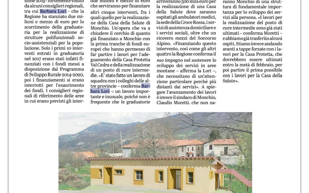 Casa Salute Monchio