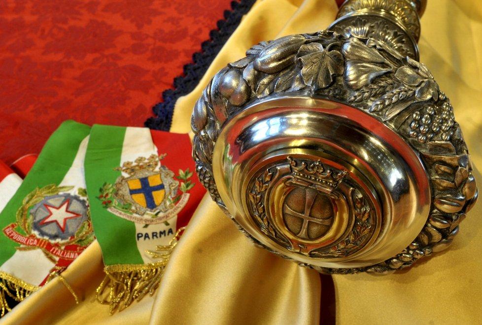 A Parma alla consegna del Premio Sant'Ilario 2016.