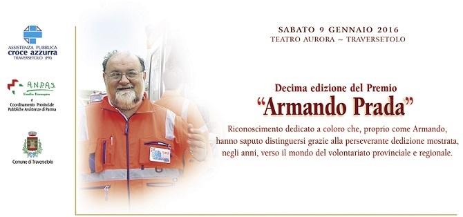 """A Traversetolo alla cerimonia di premiazione del Premio """"Armando Prada""""."""