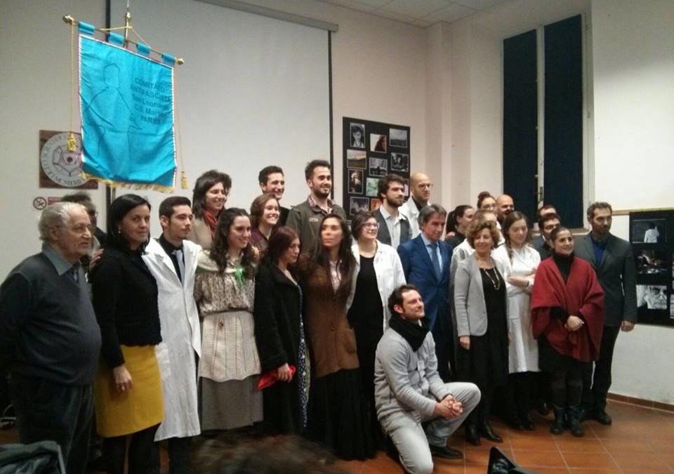 """Al Liceo Marconi di Parma per lo spettacolo Teatrale """"Parma Libera-I Cancelli della Libertà"""""""