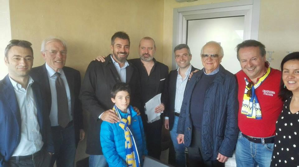 Allo Stadio Tardini per Parma-San Marino