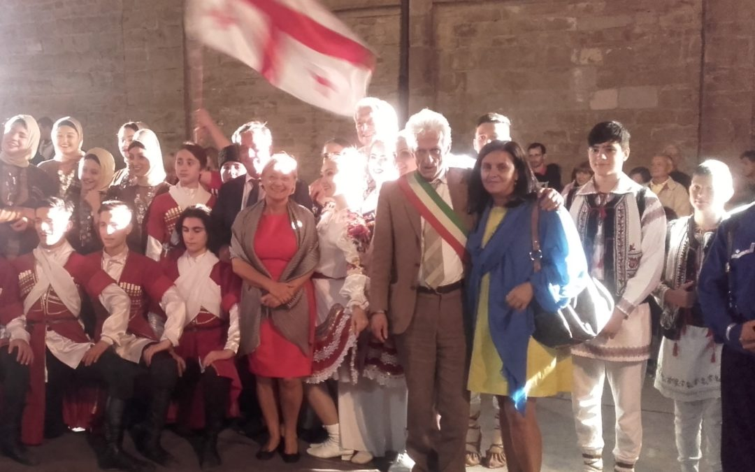 Con i bambini Saharawi