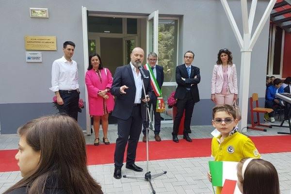 Inaugurata la scuola primaria di Monticelli Terme
