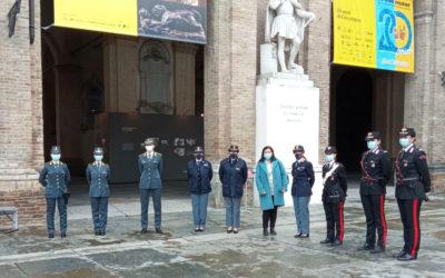 8 marzo: l'assessora incontra le donne in divisa