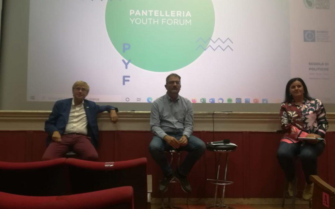 Parchi e transizione ecologica: la Lori al Pantelleria Youth Forum